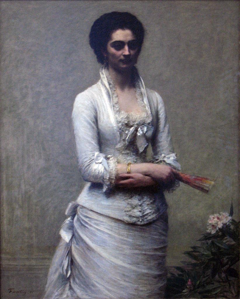 Eva Callimachi-Catargi door Henri Fantin-Latour (1881)