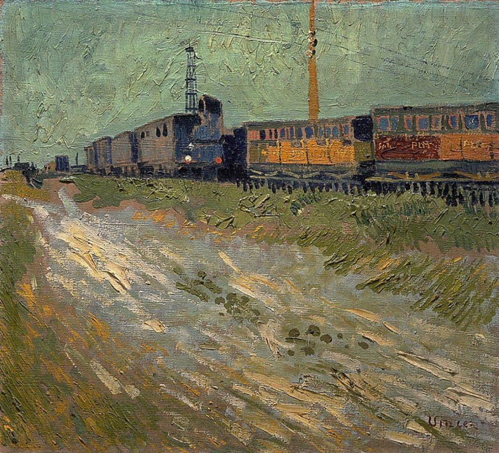 van Gogh Wagons de chemin de fer