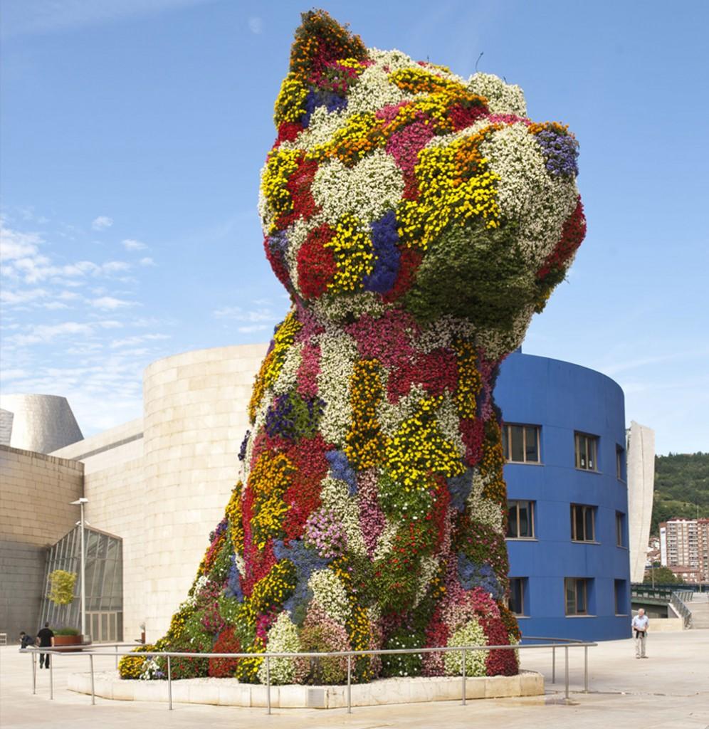 Jeff Koons Puppy Bilbao